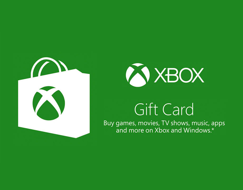Xbox Live Gift Card, 5am Gaming, 5amgaming.com